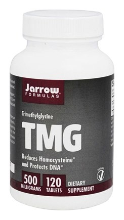Jarrow Formulas - TMG 500 mg. - 120 Tablets
