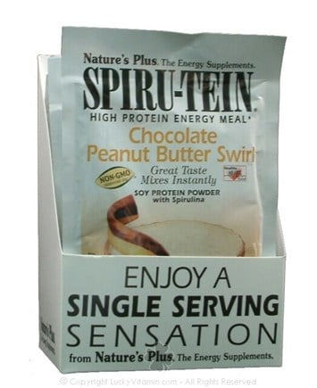 DROPPED: Nature's Plus - Spiru-Tein Chocolate Peanut Butter Swirl