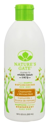 Nature's Gate - Vegan Shampoo Replenishing Chamomile + Mimosa Bark - 18 oz.