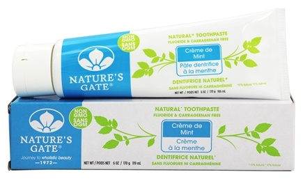 Nature's Gate - Natural Toothpaste Creme de Mint - 6 oz.