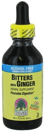 DROPPED: Nature's Answer - Bitters with Ginger Alcohol Free - 2 oz. CLEARANCE PRICED