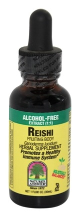 DROPPED: Nature's Answer - Reishi Fruiting Body Alcohol Free - 1 oz.
