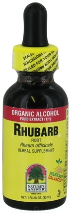Zoom View - Rhubarb Root Organic Alcohol