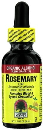 Zoom View - Rosemary Leaf Organic Alcohol CLEARANCE PRICED