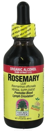 DROPPED: Nature's Answer - Rosemary Leaf Organic Alcohol - 2 oz. CLEARANCE PRICED