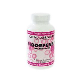 DROPPED: Nature's Benefit - Holt MD Labs BioDefense Dietary Supplement - 120 Capsules