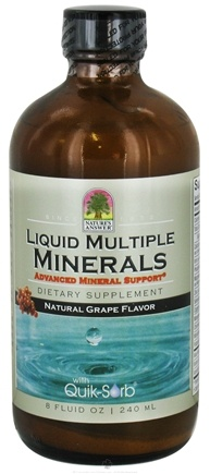 DROPPED: Nature's Answer - Liquid Multiple Minerals Grape - 8 oz. CLEARANCE PRICED