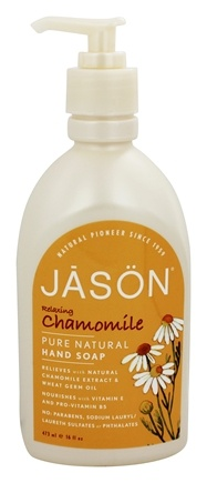 DROPPED: JASON Natural Products - Satin Hand Soap Chamomile - 16 oz.