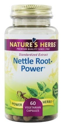 Nature's Herbs - Nettle Root-Power - 60 Capsules