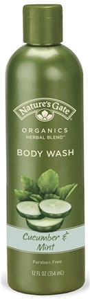 DROPPED: Nature's Gate - Body Wash Cucumber & Mint - 12 oz.