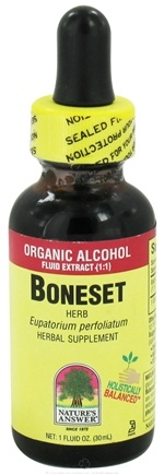 DROPPED: Nature's Answer - Boneset Herb Low Alcohol - 1 oz. CLEARANCED PRICED