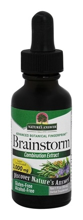 Nature's Answer - Brainstorm Combination Extract 3000 mg. - 1 oz.