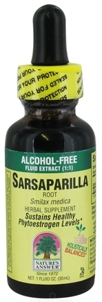 DROPPED: Nature's Answer - Sarsaparilla Root Alcohol Free - 1 oz. CLEARANCE PRICED