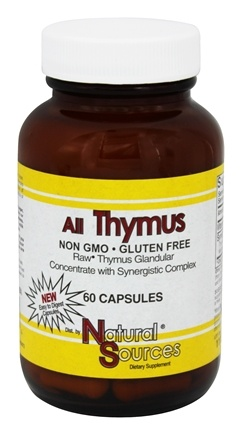 Natural Sources - All Thymus - 60 Caplets