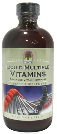 DROPPED: Nature's Answer - Platinum Liquid Multiple Vitamins - 8 oz. CLEARANCE PRICED