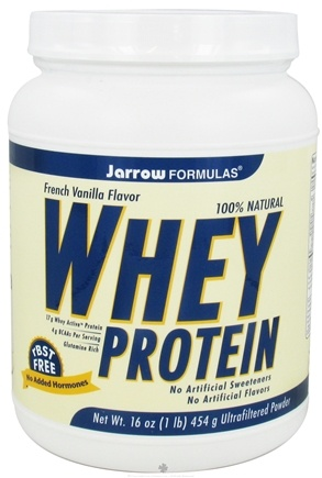 DROPPED: Jarrow Formulas - Whey Protein French Vanilla Flavor - 1 lb. CLEARANCE PRICED