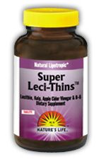 DROPPED: Nature's Life - Super Leci-Thins - 180 Tablets CLEARANCE PRICED