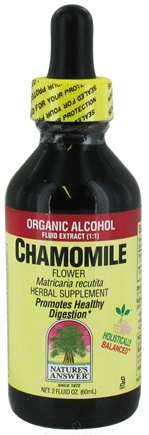 Zoom View - Chamomile Flower Organic Alcohol