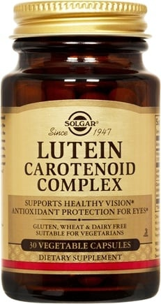 DROPPED: Solgar - Lutein Carotenoid Complex - 30 Vegetarian Capsules CLEARANCE PRICED