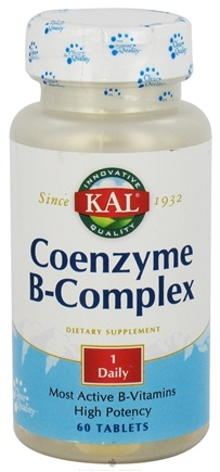 DROPPED: Kal - Coenzyme B-Complex - 60 Tablets