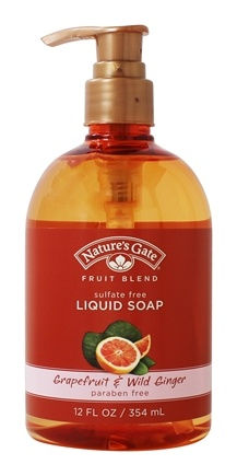 DROPPED: Nature's Gate - Liquid Soap Organics Fruit Blend Grapefruit & Wild Ginger - 12 oz.