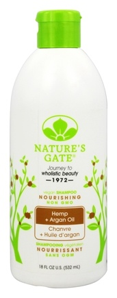 Nature's Gate - Vegan Shampoo Nourishing Hemp + Argan Oil - 18 oz.
