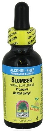 DROPPED: Nature's Answer - Slumber Alcohol Free - 1 oz. CLEARANCE PRICED