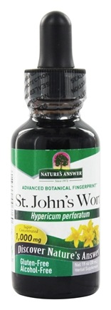 Nature's Answer - Saint John's Wort Young Flowering Tops Alcohol Free - 1 oz.