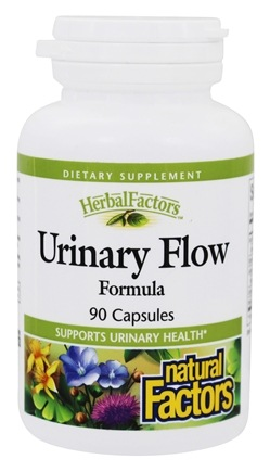 DROPPED: Natural Factors - Urinary Flow Formula - 90 Capsules CLEARANCED PRICED