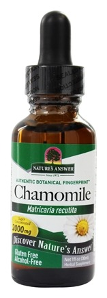 Zoom View - Chamomile Flowers Organic Alcohol Free