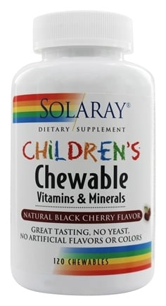 Zoom View - Children's Chewable Vitamins & Minerals