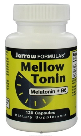 DROPPED: Jarrow Formulas - Mellow Tonin 3 mg. - 120 Capsules CLEARANCE PRICED