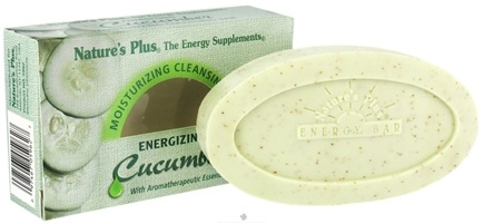 DROPPED: Nature's Plus - Moisturizing Bar Energizing Cucumber - 3.5 oz. CLEARANCE PRICED