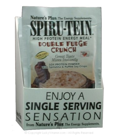 DROPPED: Nature's Plus - Spiru-Tein Double Fudge Crunch