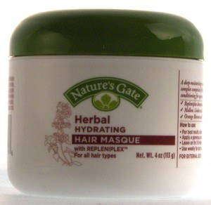 DROPPED: Nature's Gate - Herbal Hydrating Hair Masque with Repleniplex for All Hair Types - 4 oz.