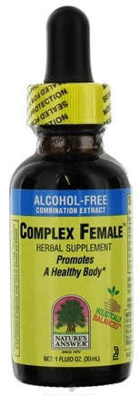 DROPPED: Nature's Answer - Complex Female Alcohol Free CLEARANCE PRICED - 1 oz.