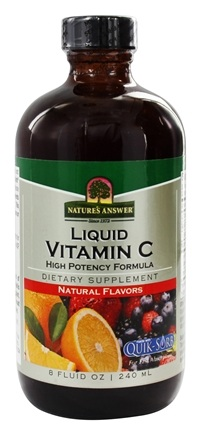 DROPPED: Nature's Answer - Vitamin C Liquid High Potency Formula - 8 oz.