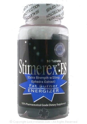 DROPPED: Hi-Tech Pharmaceuticals - Stimerex-ES with Ephedra Extract 25 mg. - 90 Tablets UNPUBLISHED