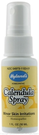 DROPPED: Hylands - Calendula No Alcohol Spray - 1 oz. CLEARANCE PRICED