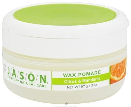 DROPPED: Jason Natural Products - Citrus & Mandarin Wax Pomade - 2 oz.