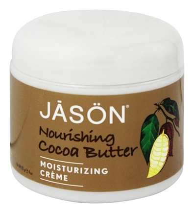 Jason Natural Products - Cocoa Butter Intensive Moisturizing Creme - 4 oz.