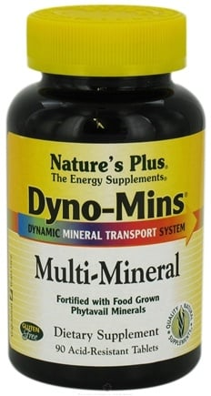DROPPED: Nature's Plus - Dyno-Mins Multi-Mineral - 90 Tablets