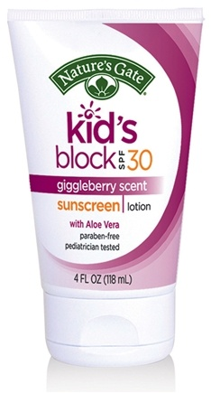 Zoom View - Sunscreen Lotion Kid's Block with Aloe Vera