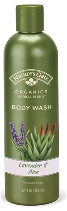 DROPPED: Nature's Gate - Body Wash Organics Herbal Blend Lavender & Aloe - 12 oz.