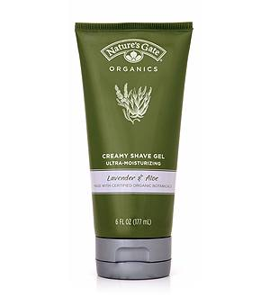 DROPPED: Nature's Gate - Creamy Shave Gel Lavender and Aloe - 8.5 oz.