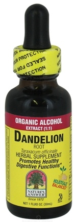 Zoom View - Dandelion Root Organic Alcohol