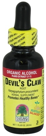 DROPPED: Nature's Answer - Devil's Claw Root Organic Alcohol - 1 oz. CLEARANCE PRICED