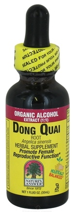 Zoom View - Dong Quai Root Organic Alcohol