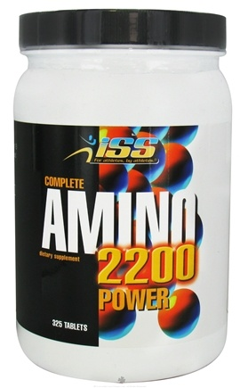 DROPPED: ISS Research - Complete Amino 2200 Power - 325 Tablets