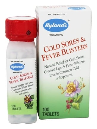 DROPPED: Hylands - Cold Sores & Fever Blister - 100 Tablets